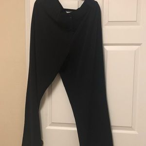 Black casual dress pants